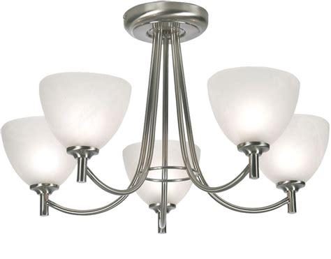 oaks lighting hamburg 5 light semi flush ceiling light