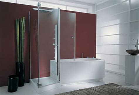 Stand Up Shower Tub Combo S19opu Bathtub Shower Combo