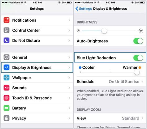 how to turn light on iphone disable enable shift mode on iphone ios 9 3