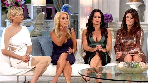 a second by second recap of the rhobh season 5 preview real housewives of beverly hills reunion recap part two