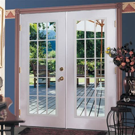 Shop Reliabilt 174 6 Reliabilt French Patio Door Steel 15 Metal Patio Doors