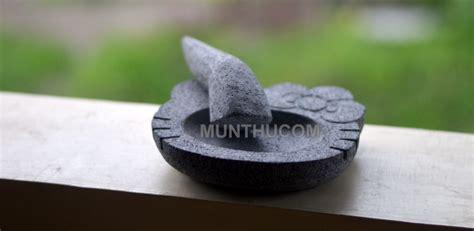 Cobek Batu Mini U Tempat Sambal cobek hello batu kali mungil 15cm ulekan munthu