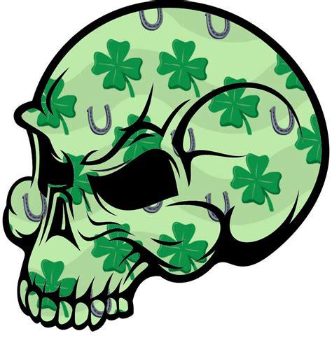 irish skull  images  clkercom vector clip art