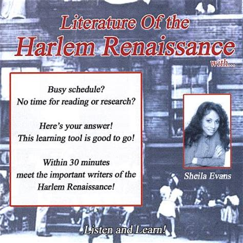 themes of literature during the harlem renaissance literature of the harlem renaissance sheila evans