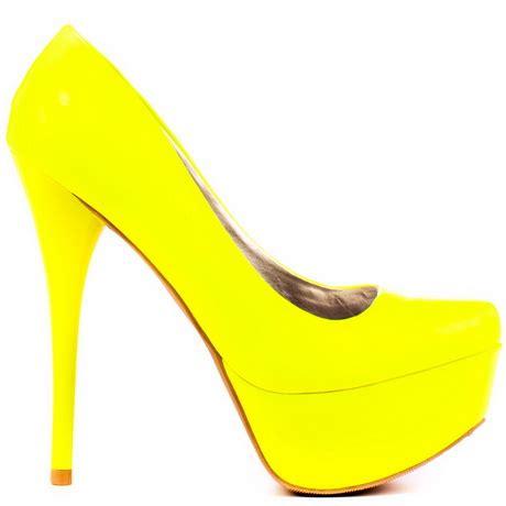 canary yellow high heels yellow high heels