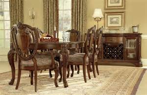 furniture world leg dining room set 143220