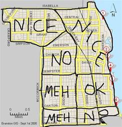 Crime Map Chicago by Evanston Crime Map Google Search Chicago Pinterest