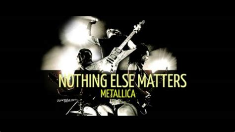 nothing else matters zero thirty nothing else matters metallica biggy styles records