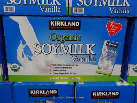 costco kirkland milk kirkland signature organic vanilla soy milk