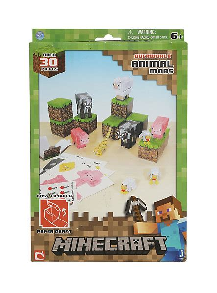Minecraft Papercraft Animal Mobs Set - minecraft papercraft animal mobs set topic