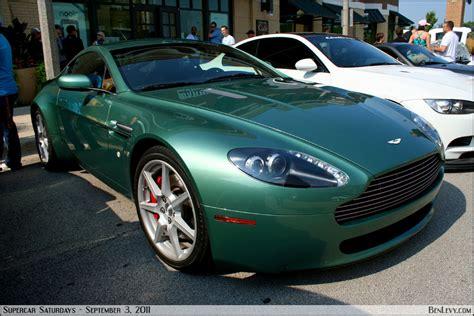 green aston martin vantage coupe benlevy