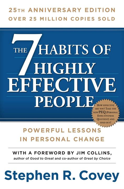 7 habits 25th anniversary edition paperback book the 7 habits franklincovey store
