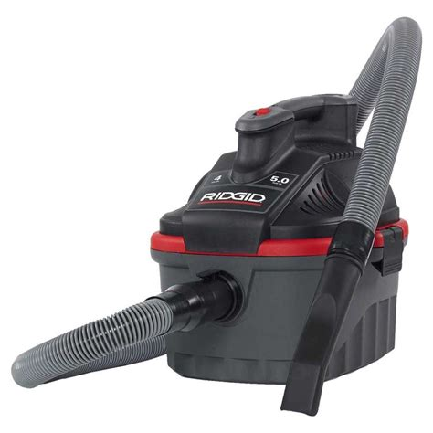 Ridgid 4000rv Four Gallon Portable Wet Dry Vacuum