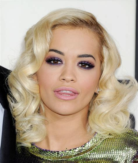 what colour liostick does rita ora wear on the voice grammys 2014 makeup rita ora rouge 18