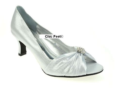 silver lexus layla wide fit wedding evening shoes
