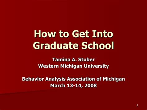 Test To Get Into Grad School Mba by How To Get Into Graduate School