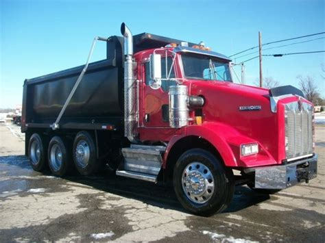 2008 kenworth truck 2008 kenworth dump trucks for sale used trucks on