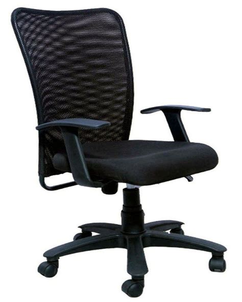 push back chair price in india sapphire medium back office chair black buy sapphire