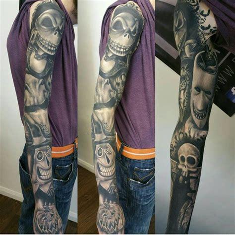 tim burton tattoo sleeve 15 fascinating tim burton tattoos tattoodo