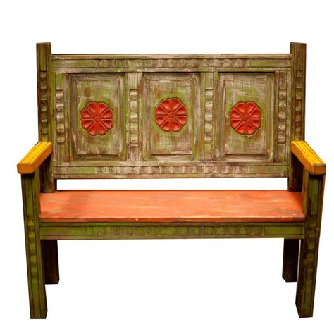 Painted Mexican Furniture by Mexican Painted Furniture Archives Moreno S Rustic
