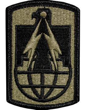 operational camouflage pattern unit patches ocp unit patch 11th sustainment brigade with fastener