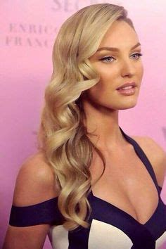 secret model with hair on the side and the back but hair on the top victorias secret model candice swanepoel easter bunny