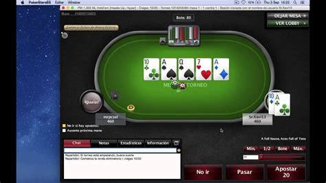 torneo poker   pokerstars commentary sit