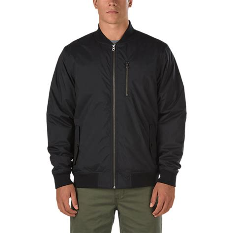 Jaket Vans barlowe bomber jacket shop jackets at vans