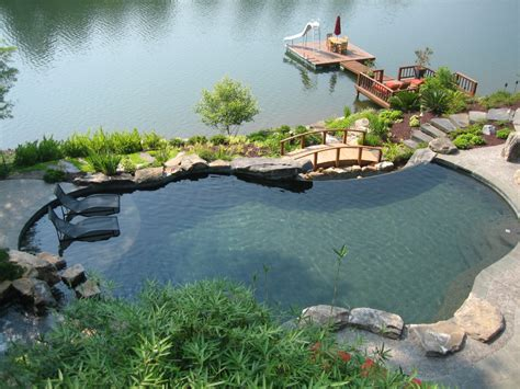Building A Tropical Lagoon Style Pool Lagoon Swimming Pool Designs