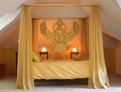 egyptian inspired bedroom bedroom in the ancient egyptian style by paul sternberg
