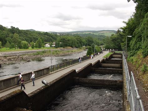 the fish ladder a pitlochry fish ladder wikipedia