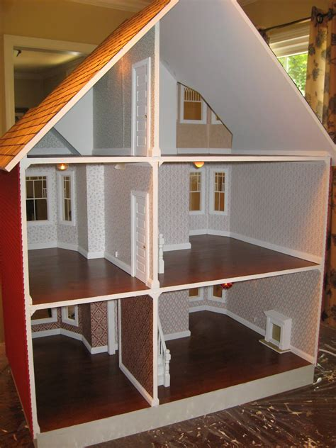 darlings dollhouses  painted lady dollhouse