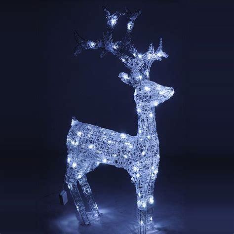 Renne Di Babbo Natale Luminose by Sagoma Luminosa Decorazione Luminosa Eminza