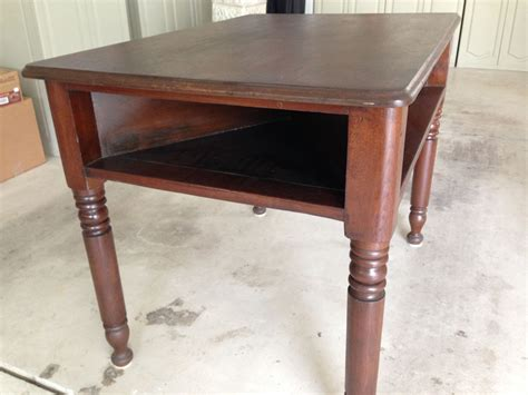 antique library table for sale 4 sided table with area below table top for each player to