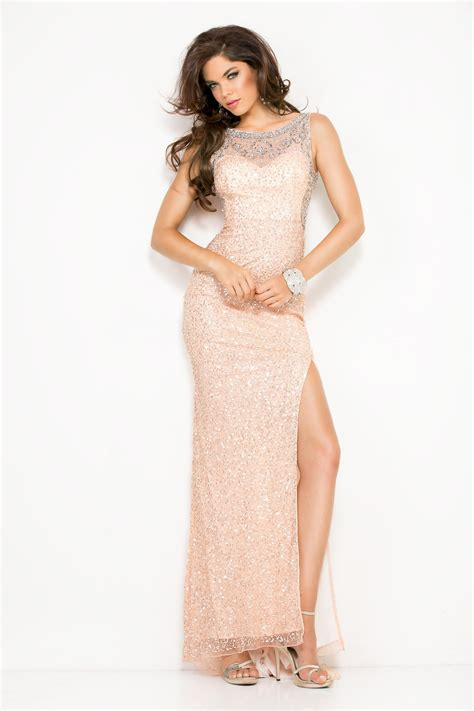 beaded blush dress scala blush pink sequin beaded slit dress alila