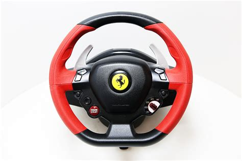 Xbox One Thrustmaster Vg 458 Spider Racing Wheel hern 237 volant thrustmaster 458 spider racing wheel