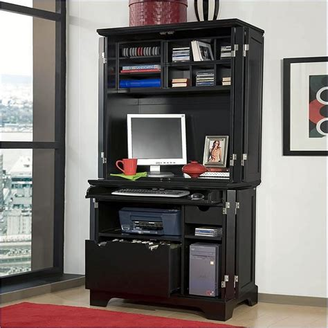 Office Desk Armoire Cabinet Furniture Bedford Cabinet Hutch In 5531 190