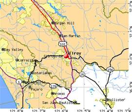 california map gilroy gilroy california map