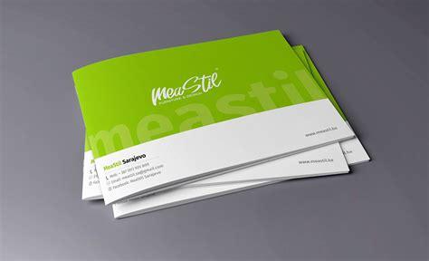 landscape brochure layout landscape brochure design for meastil d o o on behance