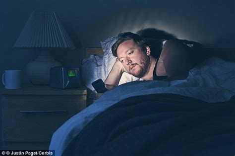 Looking The Bed by Nottingham Trent Researchers Say Phone Users