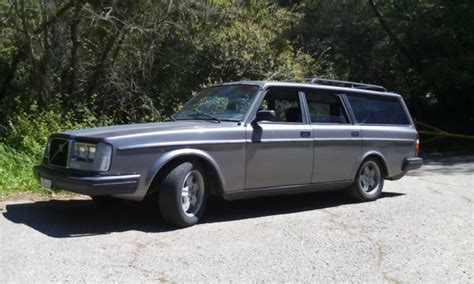 1983 volvo 240 glt turbo wagon manual 4 speed with