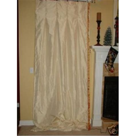 ivory silk drapes 4 custom ivory silk drapery panels curtains