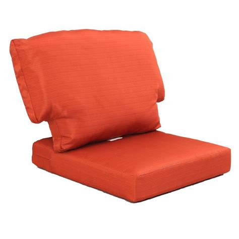 Cushions For Patio Furniture Martha Stewart Living Charlottetown Quarry Replacement Outdoor Chair Cushion Shop Your Way