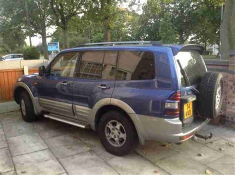 mitsubishi shogun 2000 mitsubishi 2000 shogun 3 5 v6 gdi gls petrol car for sale