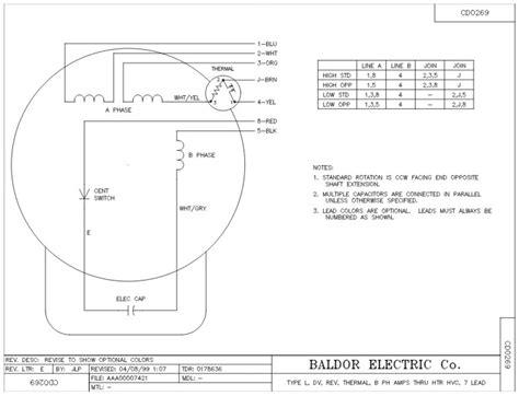 baldor dc generator wiring diagram electric generator