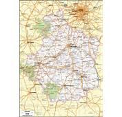 Carte Du Centre Val De Loire
