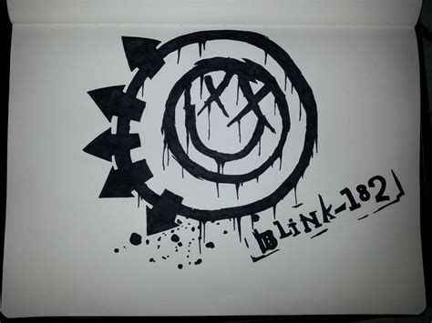 drawing blink 182 logo blink 182 by tangypineapple on deviantart