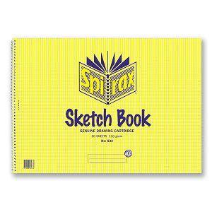 sketch book a3 spirax sketch book no 533 a3 40 pg book6021 cos