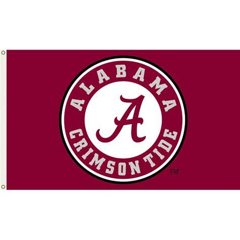 alabama crimson tide 3ft x 5ft team flag logo design 4