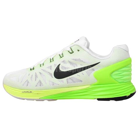 lime green sneakers nike wmns lunarglide 6 white lime green 2015 new womens